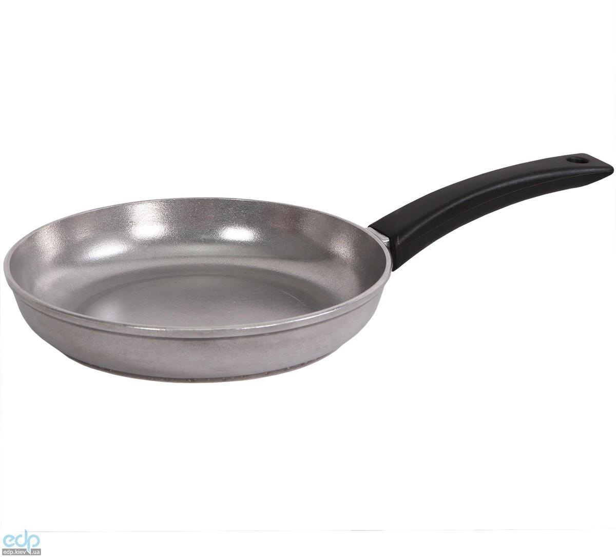 Биол - Сковорода алюминиевая без крышки Линия Блеск диаметр 24 см (2404Б)