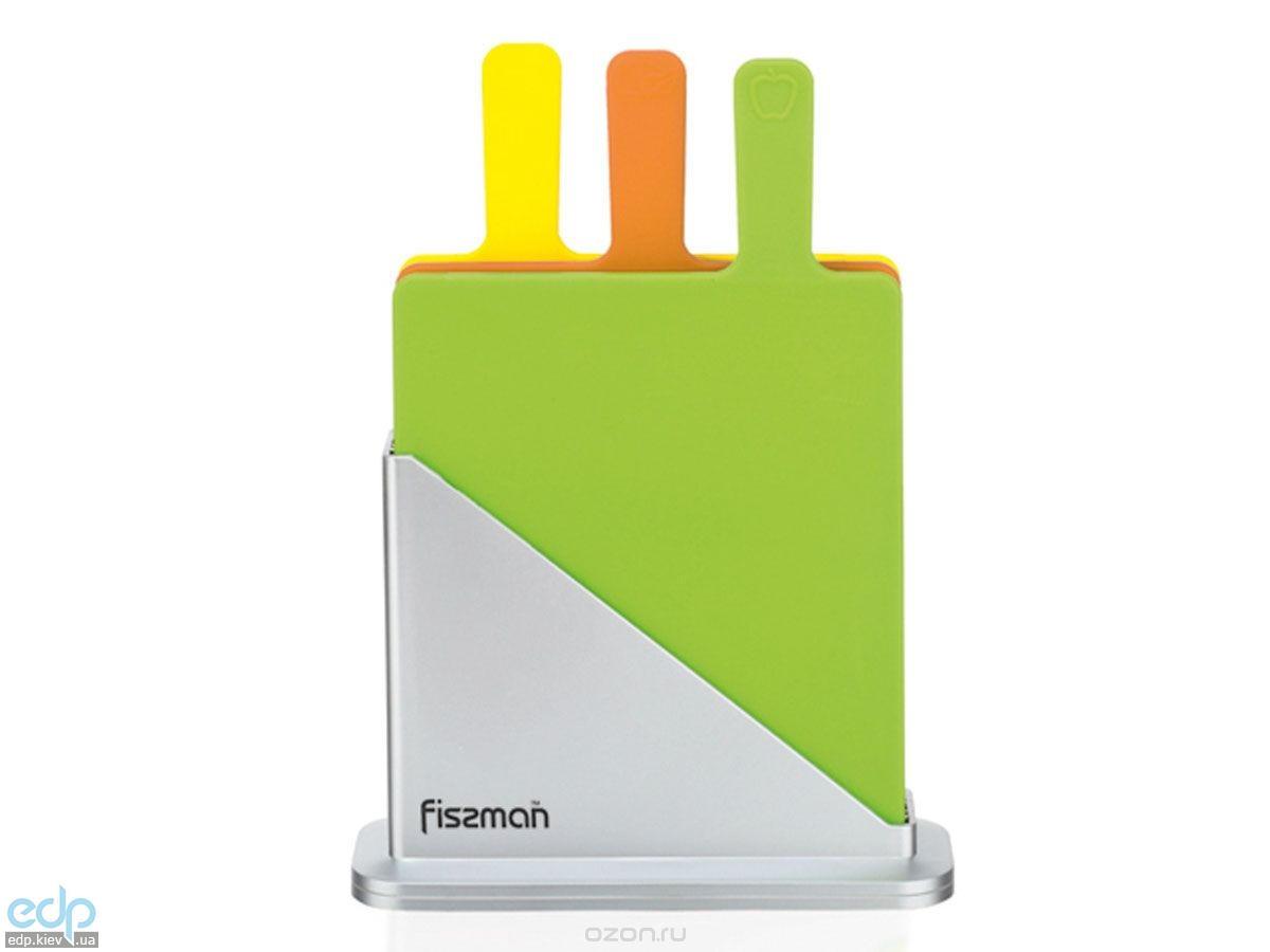 Fissman - Набор разделочных досок 4 предмета пластик (AY-7351.CB)