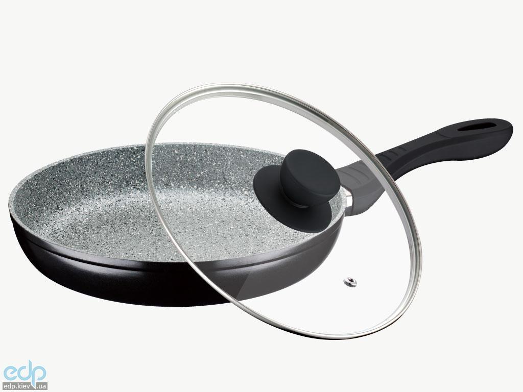 Peterhof - Сковорода с крышкой диаметр 24 см гранитное покрытие (арт. PH15422-24)