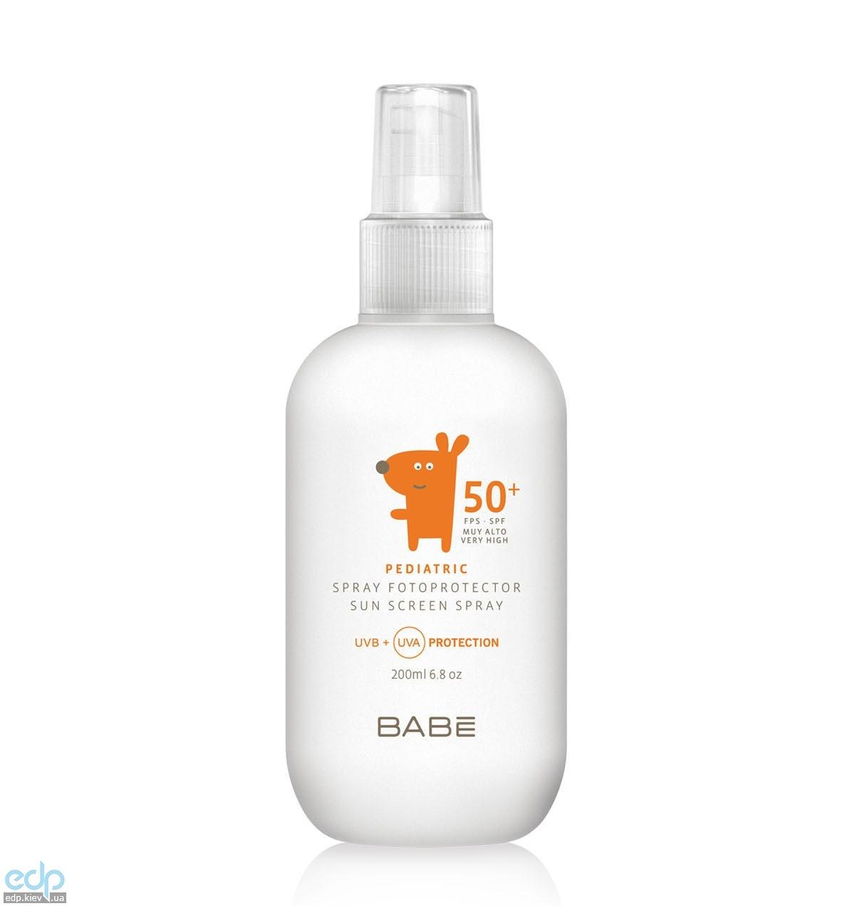 Babe Laboratorios - Солнцезащитный спрей детский SPF 50 - 200 ml (арт. 161890025)
