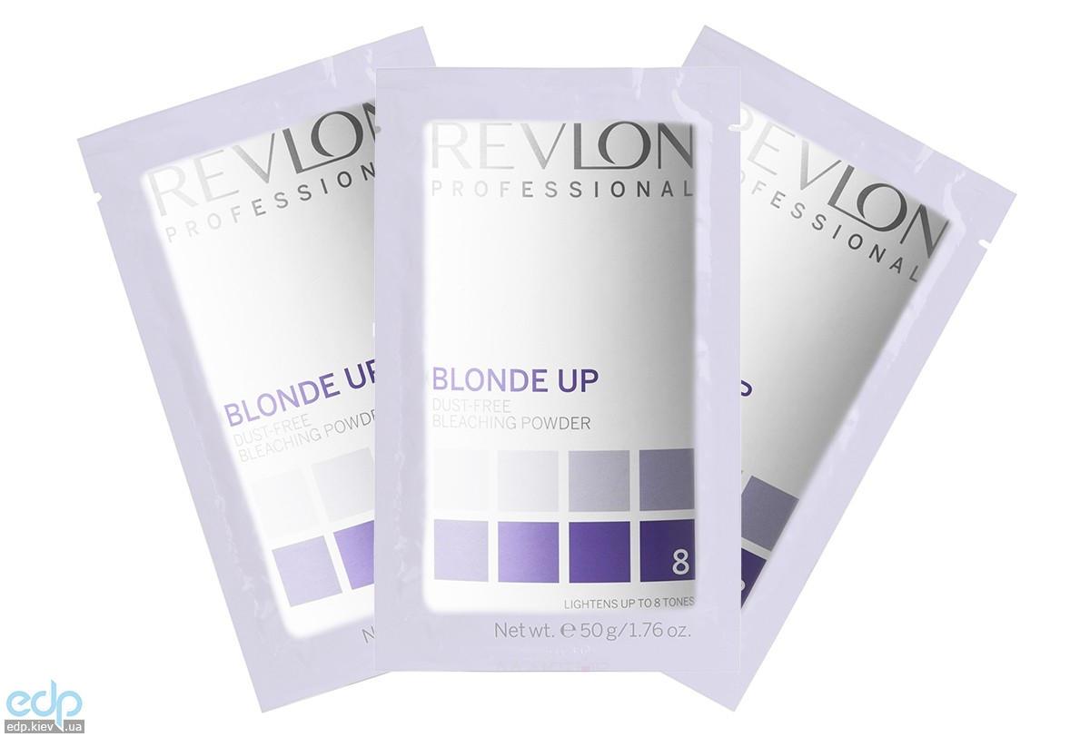 Revlon Professional Blonde Up Gentle Powder Sashe - Обесцвечивающий порошок для всех техник осветления (сила осветления до 8 тонов) - 12х50 g