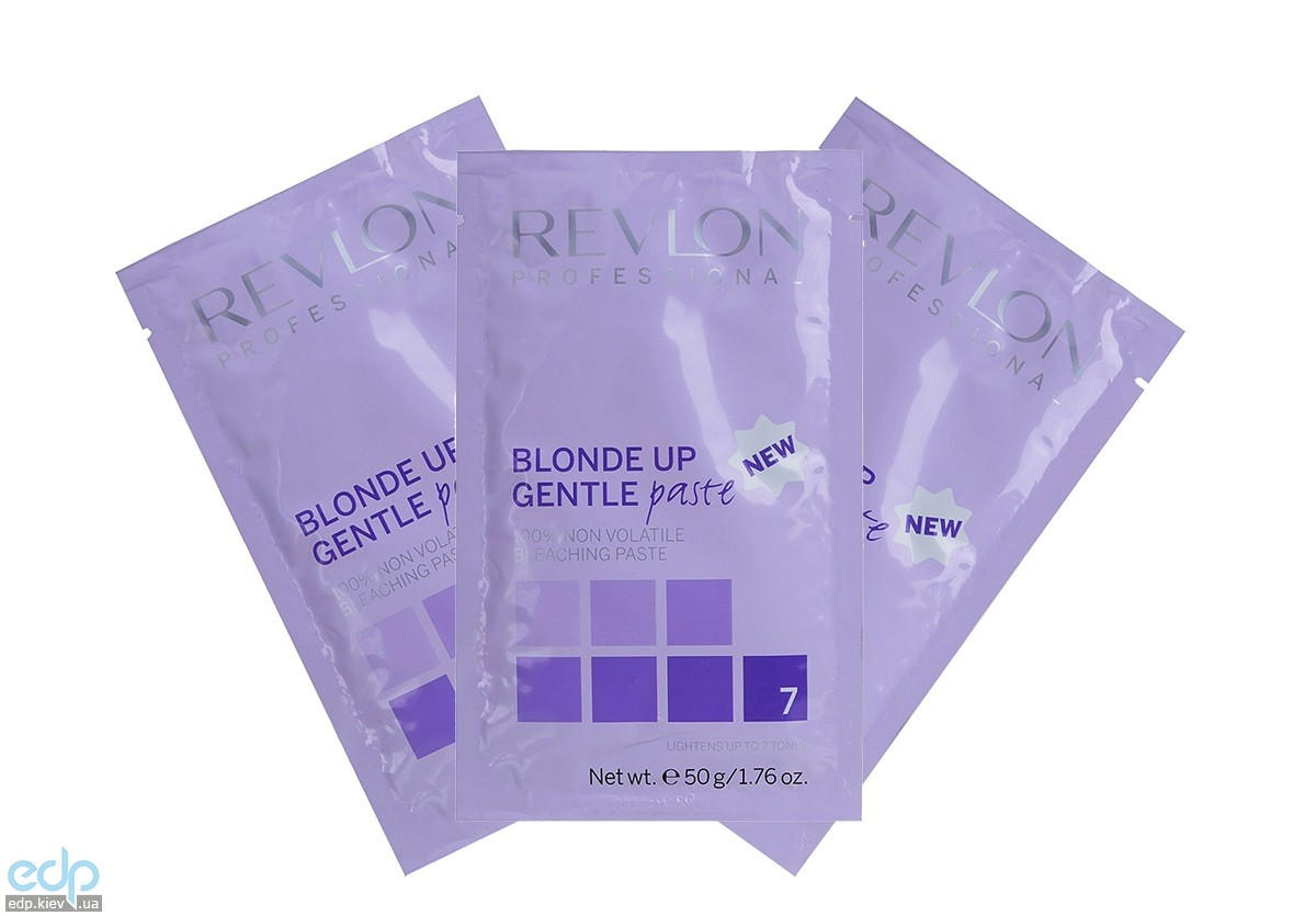 Revlon Professional Blond Up Gentle Paste Sashe - Нелетучая осветляющая паста (Сила осветления до 7 тонов) - 12х50 g