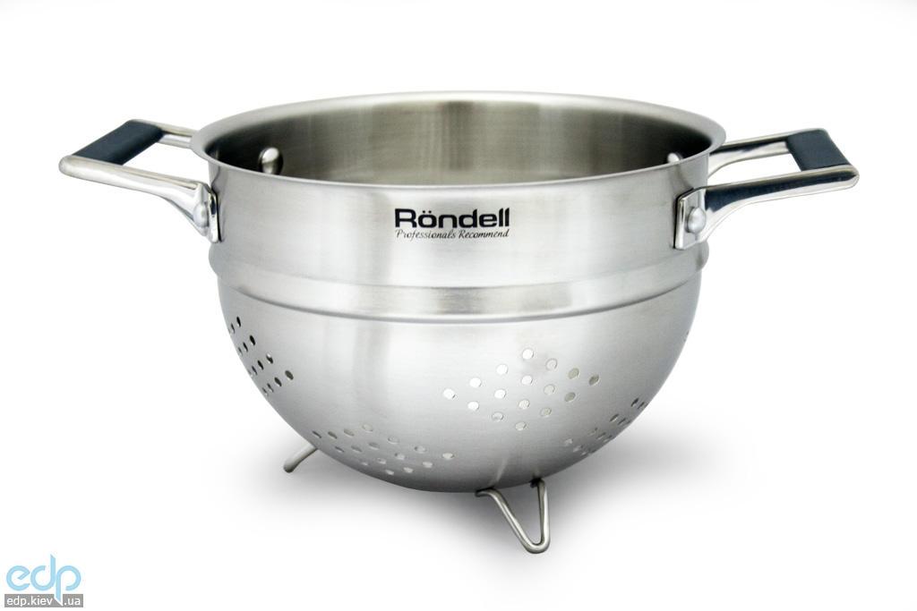 Rondell - Дуршлаг с силиконовыми ручками Verse диаметр 20 см (арт. RD-232)
