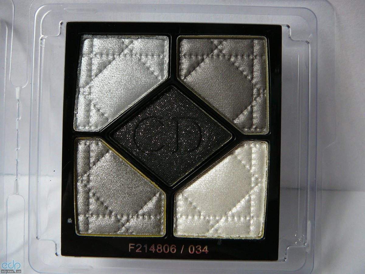 Тени для век Christian Dior - 5-Colour Eyeshadow Palette №034 Gris-Gris TESTER