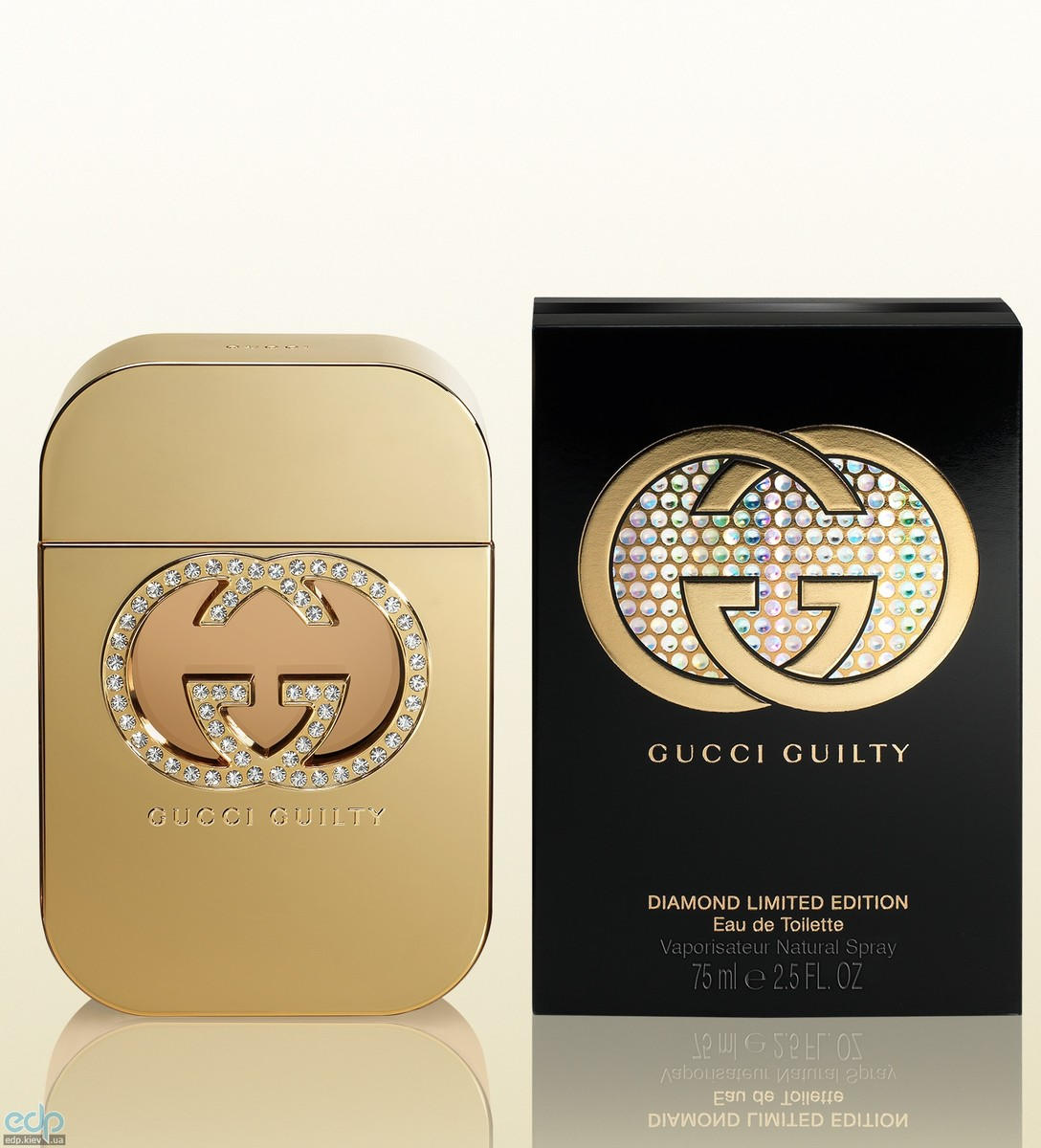 Gucci Guilty Diamond Limited Edition - туалетная вода - 75 ml
