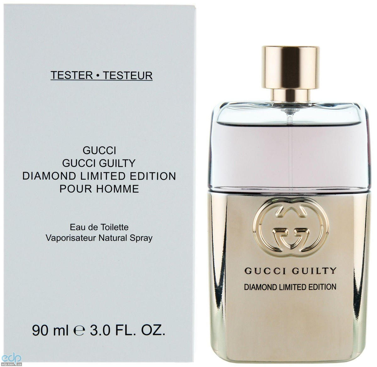 Gucci Guilty Diamond Pour Homme Limited Edition - туалетная вода - 90 ml TESTER