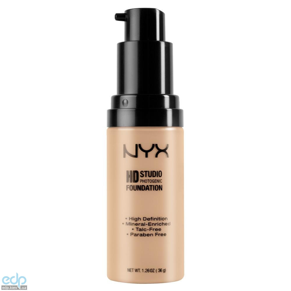 NYX - Тональная основа Hd Studio Photogenic Foundation Nude HDF01 - 36 g