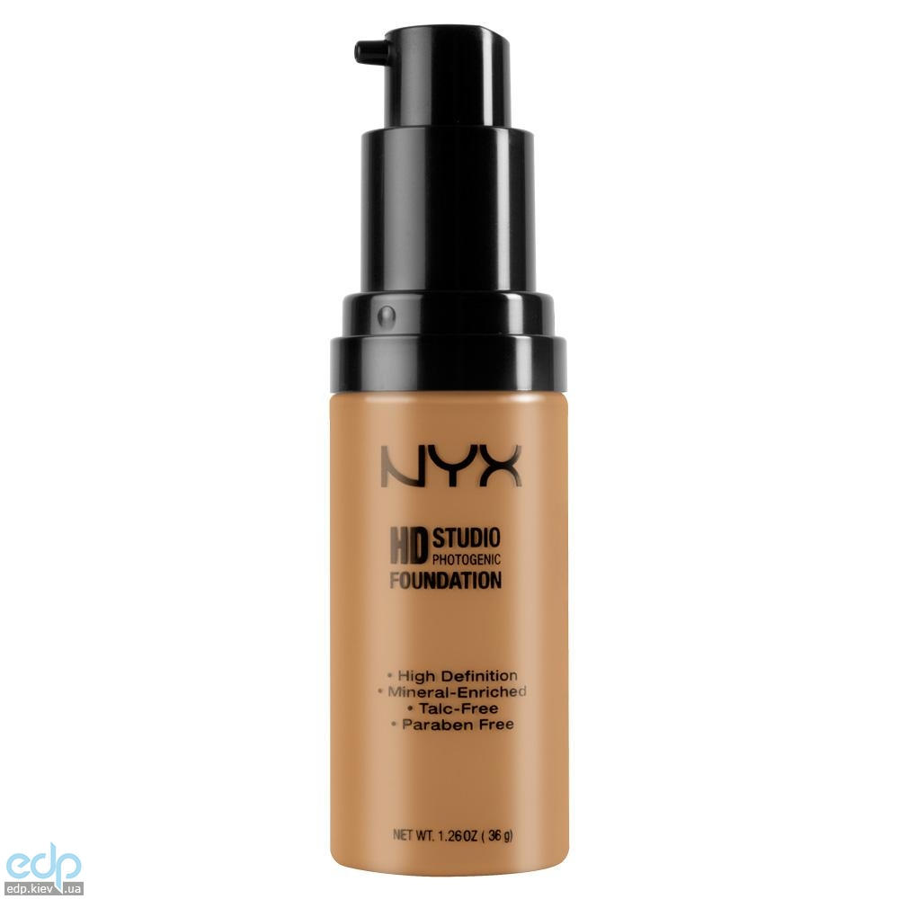 NYX - Тональная основа Hd Studio Photogenic Foundation Natural HDF03 - 36 g