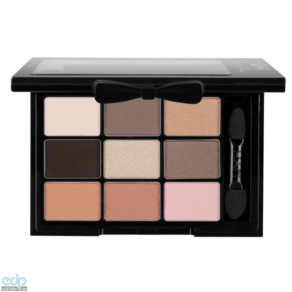 NYX - Набор теней Love In Paris Eye Shadow Palette Madeleines And Macaroons LIP02 - 7.2 g