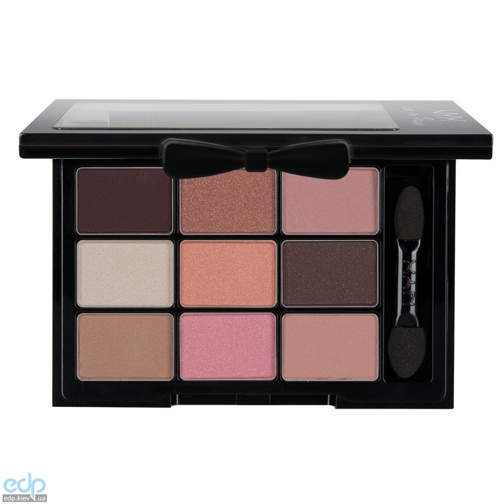 NYX - Набор теней Love In Paris Eye Shadow Palette Let Them Eat Cake LIP08 - 7.2 g