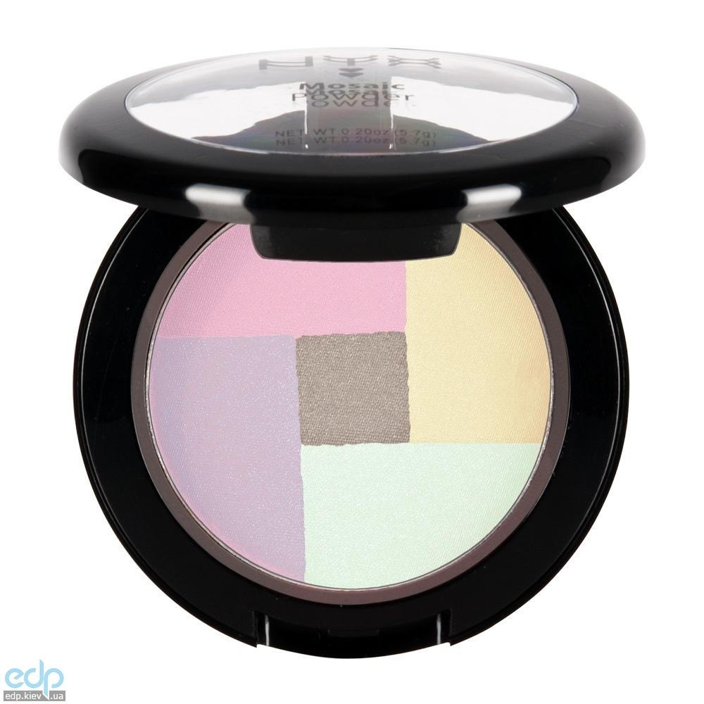 NYX - Мозаичные пудровые румяна Mosaic Powder Blush Highlighter MPB01 - 5.7 g