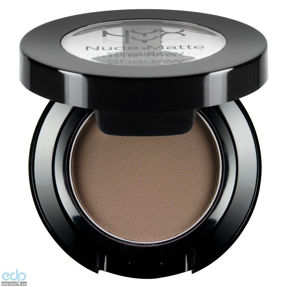NYX - Матовые тени Nude Matte Shadow Tryst холодные коричневые NMS07 - 1.6 g