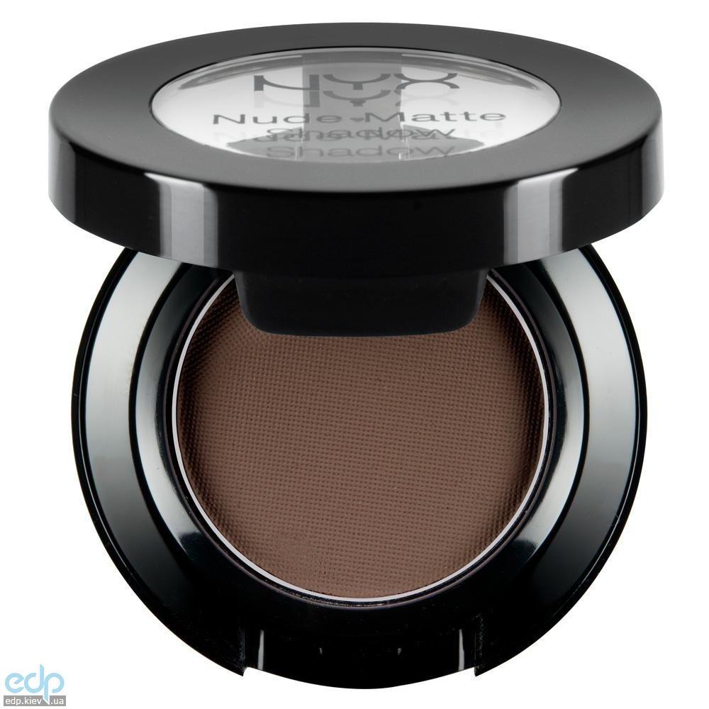 NYX - Матовые тени Nude Matte Shadow Betrayal холодные темно-коричневые NMS11 - 1.6 g