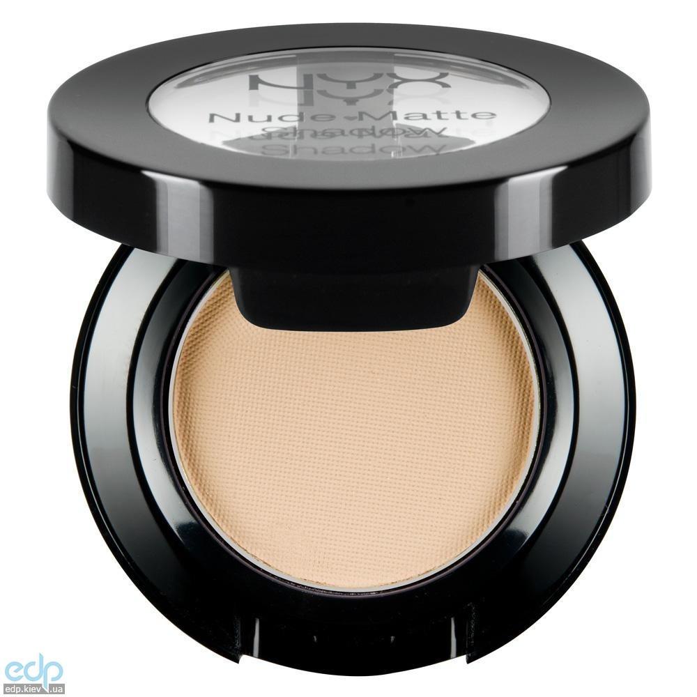 NYX - Матовые тени Nude Matte Shadow Lap Dance мягкий персик NMS20 - 1.6 g