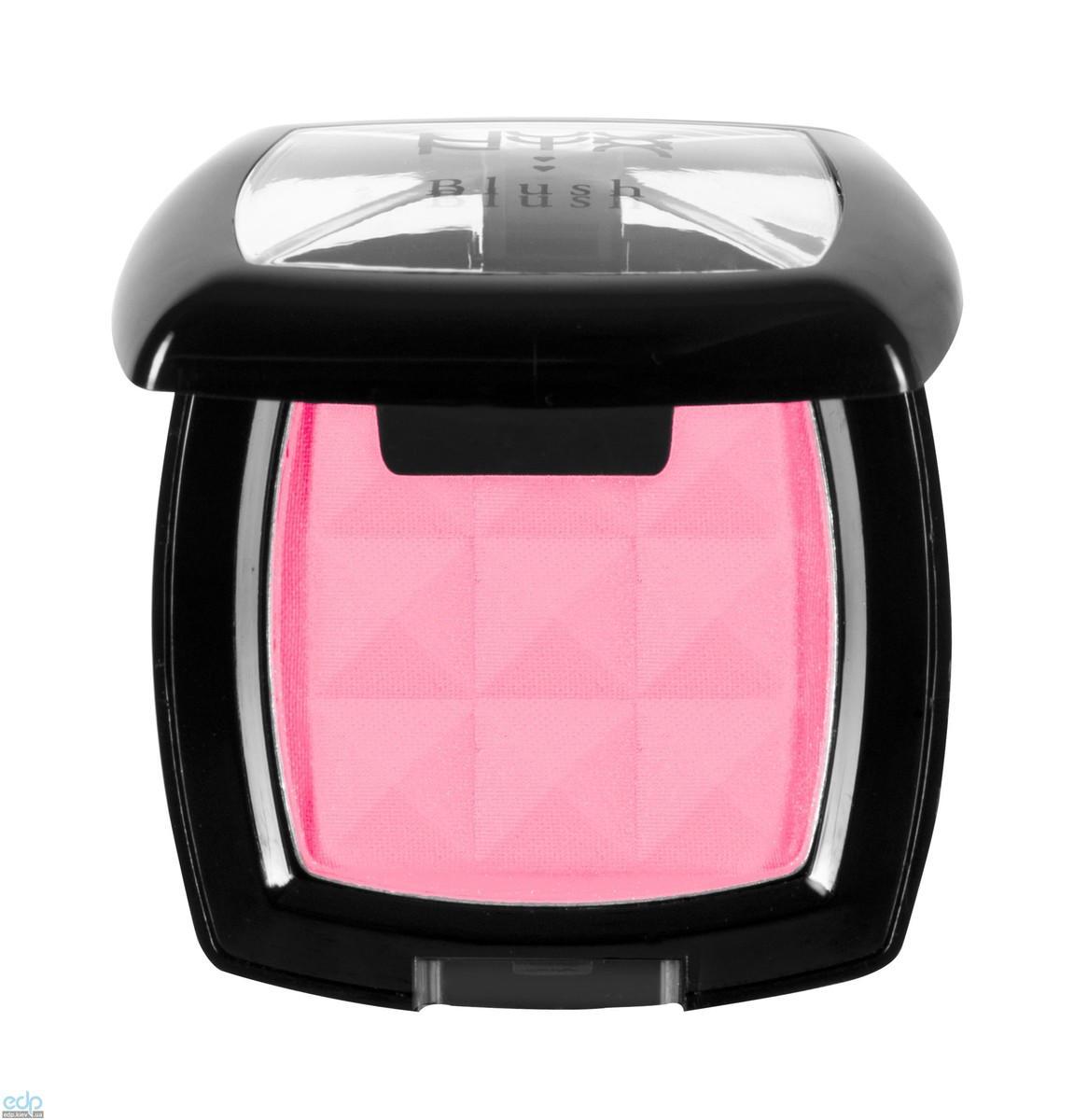 NYX - Компактные румяна Nyx Powder Blush холодный розовый Flamingo PB30 - 4 g