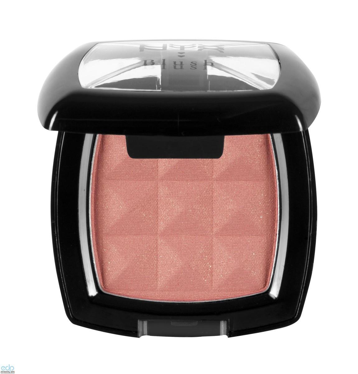 NYX - Компактные румяна Nyx Powder Blush теплый розовый с золотым отливом Ethereal PB33 - 4 g