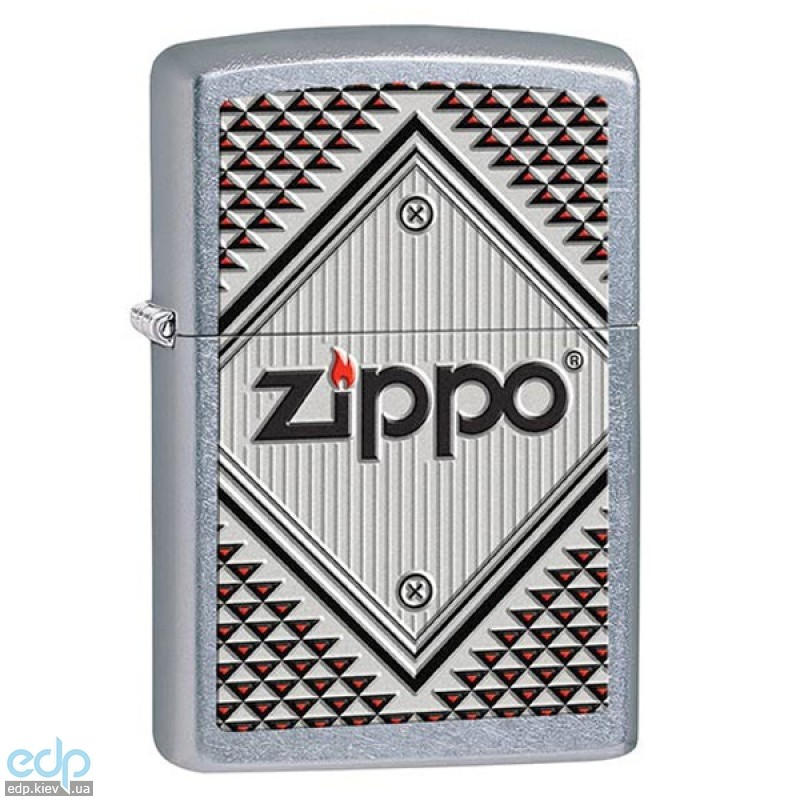 Зажигалка Zippo - Red and Chrome (28465)
