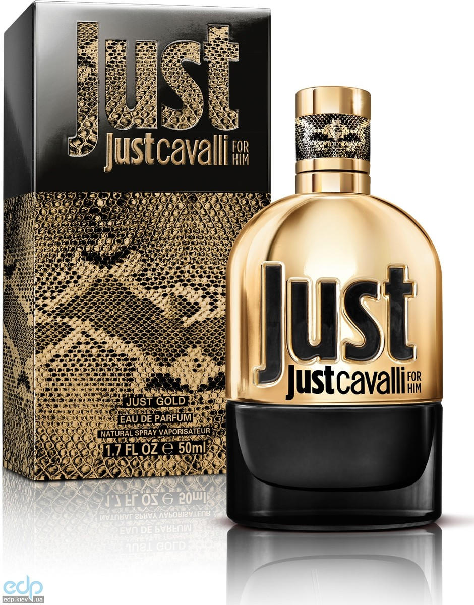 Roberto Cavalli Just Cavalli Gold for Him - парфюмированная вода - 50 ml