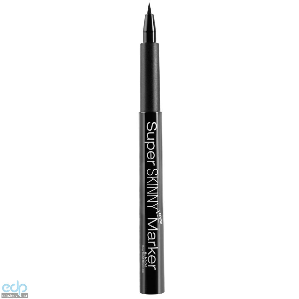 NYX - Ультратонкий маркер для глаз Super Skinny Eye Marker Черный Carbon Black SSEM - 1.1 ml