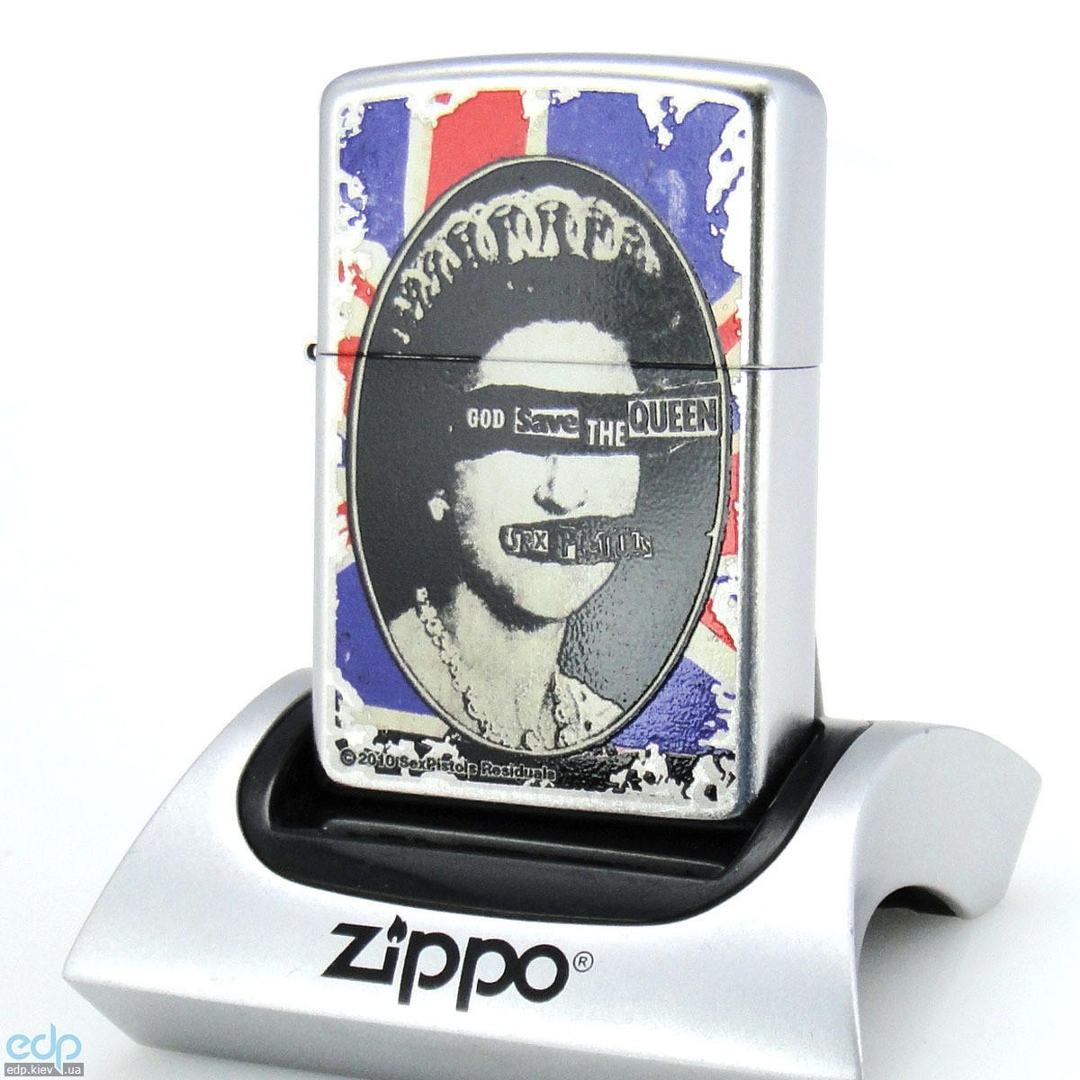 Зажигалка Zippo - Sex Pistols God Save The Queen (28024)