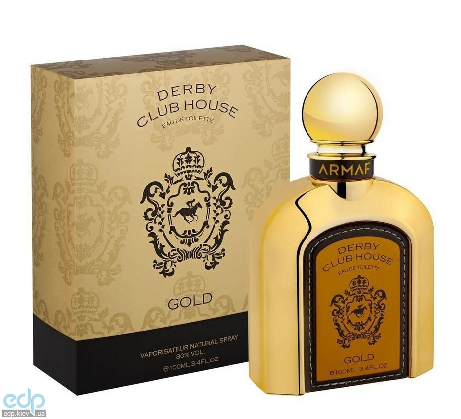 Sterling Derby Club House Gold Men - туалетная вода - 100 ml