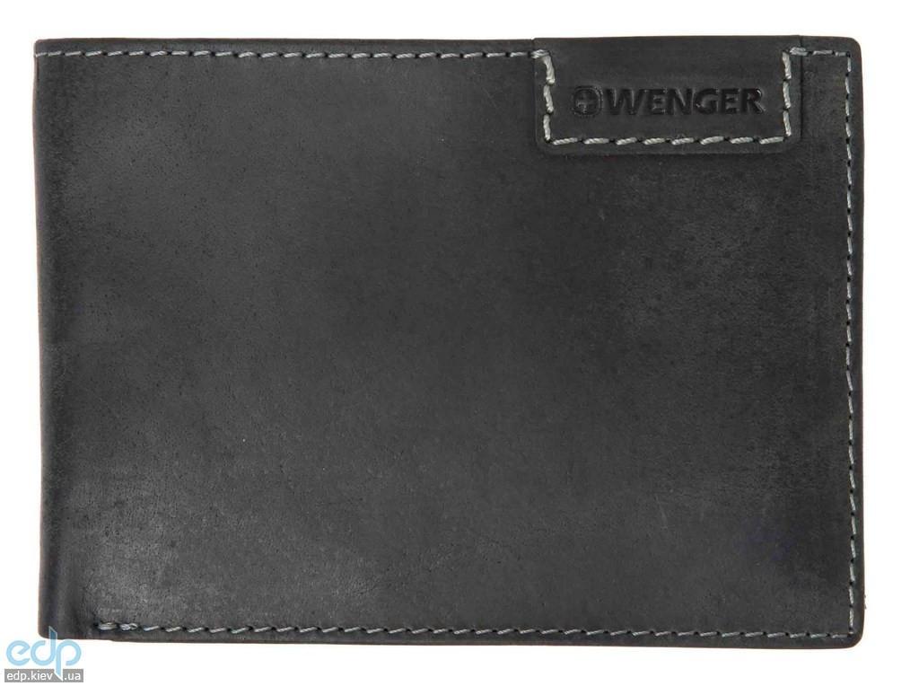 Портмоне горизонтальное Wenger (черное) - 12,5х8,5 см (WEW065.11)