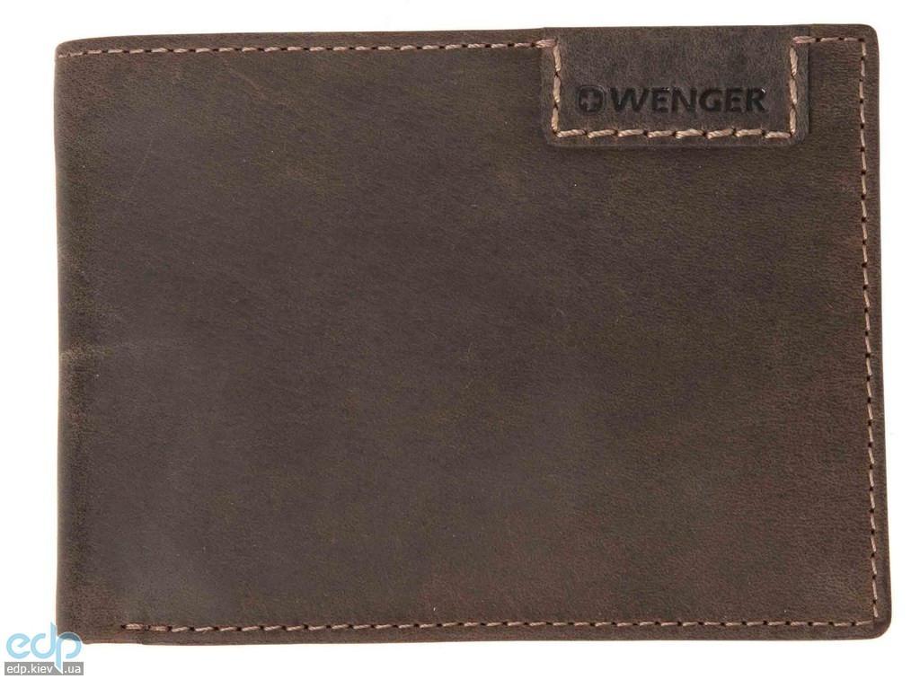 Портмоне горизонтальное Wenger (коричневое) - 12,5х8,5 см (WEW065.70)