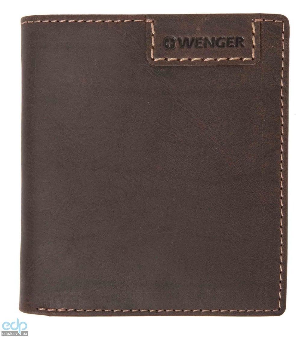 Портмоне вертикальное Wenger (коричневое) - 10,5х9,5 см (WEW066.70)