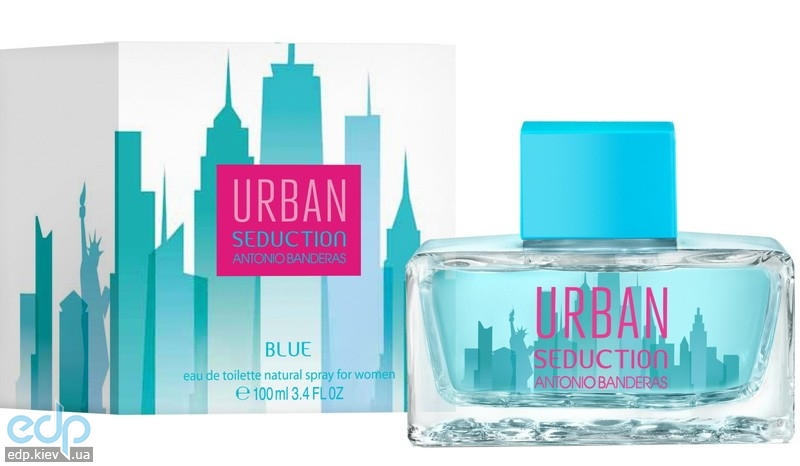 Antonio Banderas Blue Urban Seduction For Women - туалетная вода - 100 ml