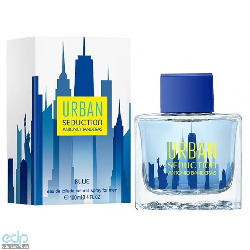 Antonio Banderas Blue Urban Seduction for Men - туалетная вода - 100 ml