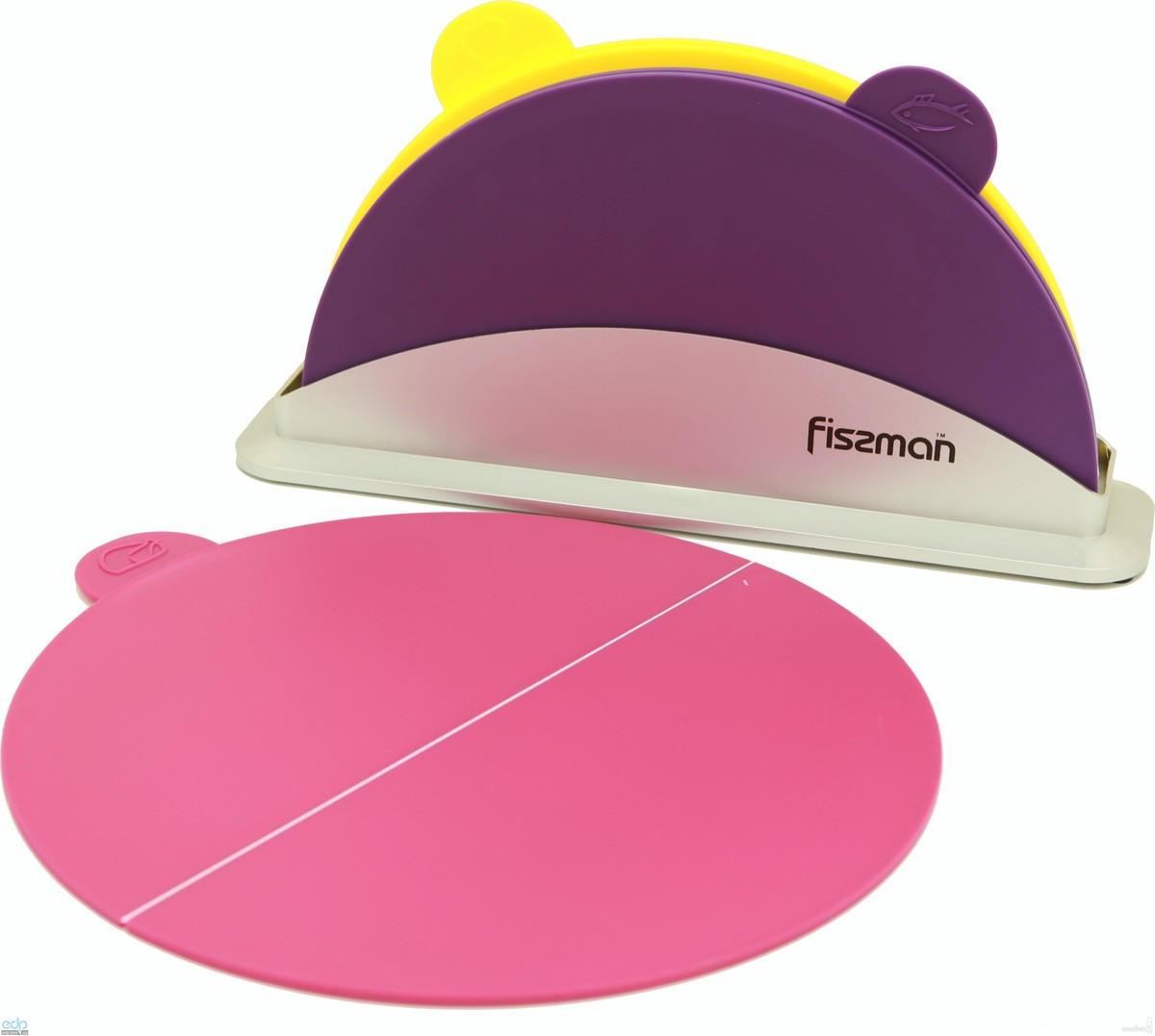 Fissman - Набор досок на подставке 3 штуки 33 х 19 см пластик (AY-7240.CB)