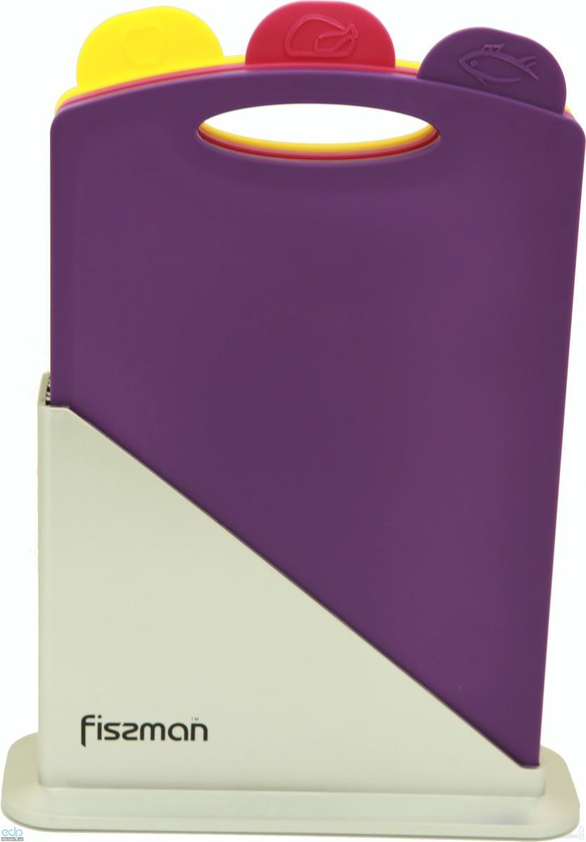 Fissman - Набор досок на подставке 3 штуки 23 х 32 см пластик (AY-7241.CB)