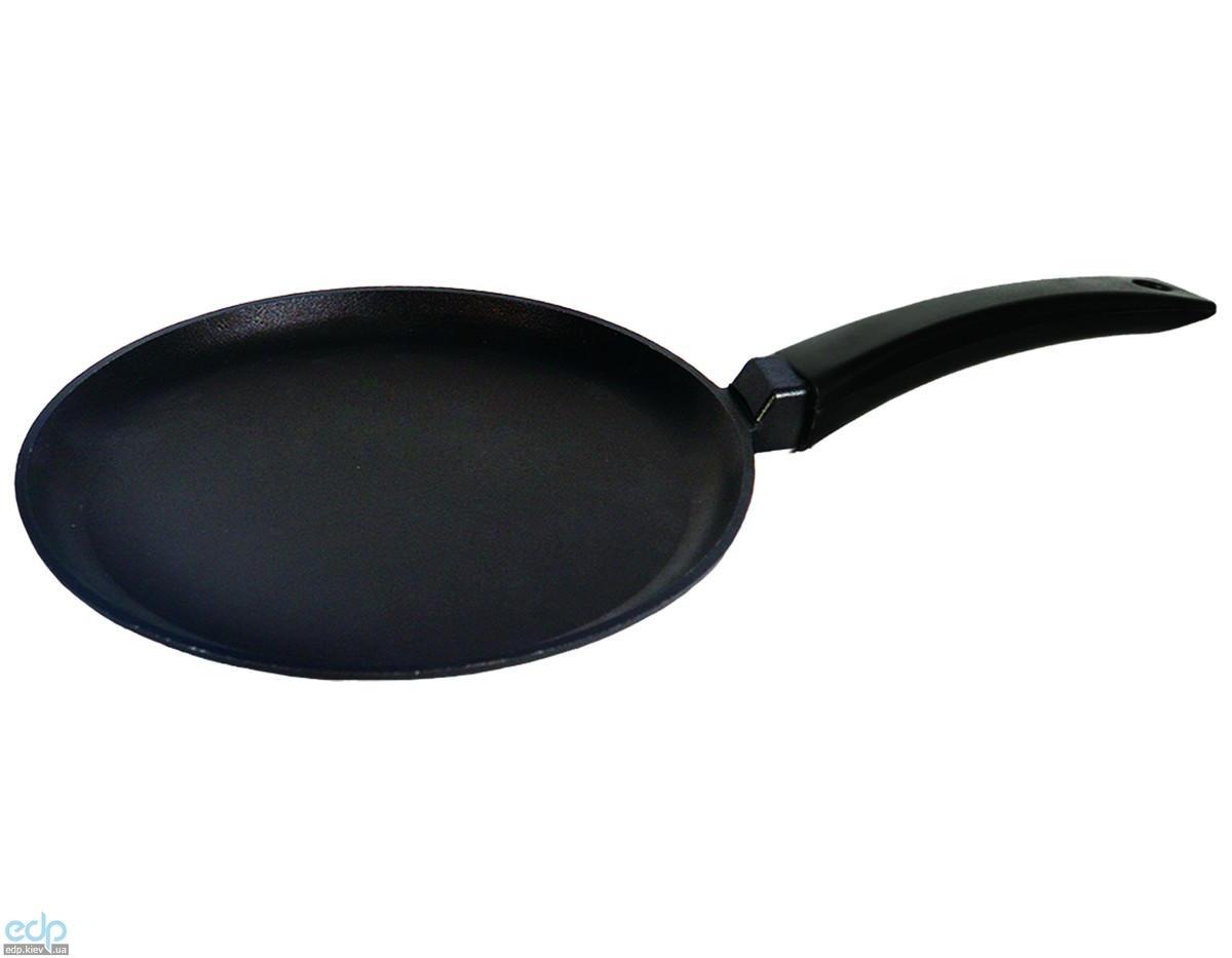Биол - Сковорода блинная алюминиевая Линия Классик без крышки диаметр 24 см (2408П)