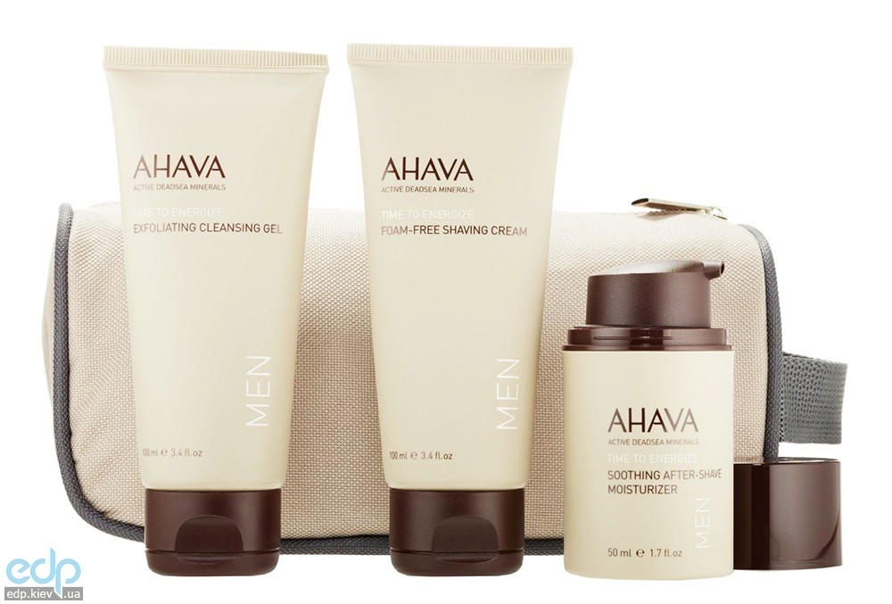 Ahava - Набор мужской Для путешествий - Travel Kit For Men
