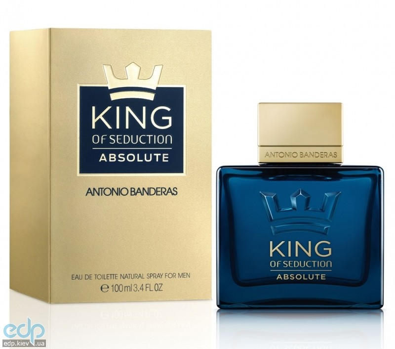 Antonio Banderas King of Seduction Absolute - туалетная вода - 100 ml TESTER