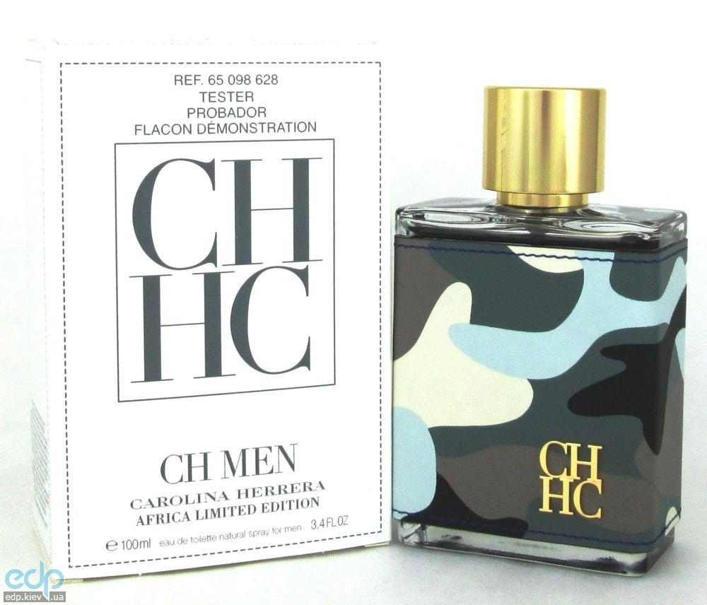 Carolina Herrera CH Men Africa - туалетная вода - 100 ml TESTER