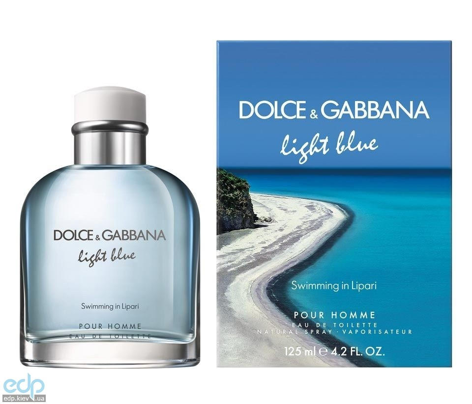 Dolce Gabbana Light Blue Swimming In Lipari - туалетная вода - 45 ml