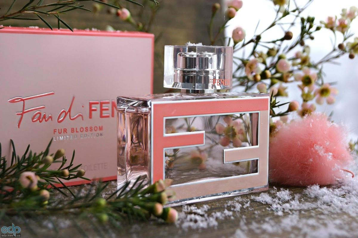 Fendi Fan di Fendi Blossom Fur Limited Edition
