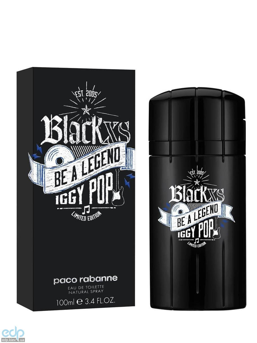 Paco Rabanne Black XS Be a Legend Iggy Pop