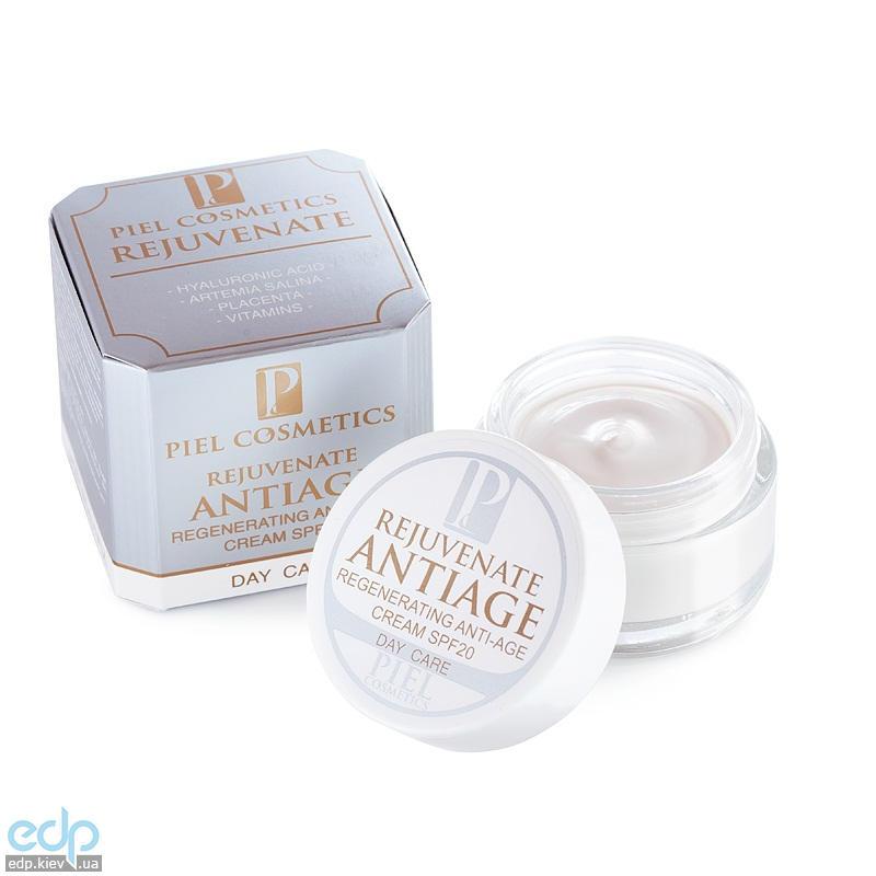 Piel Cosmetics - Интенсивный восстанавливающий антивозрастной крем Rejuvenate Antiage Regenerating Cream SPF20 - 50 ml