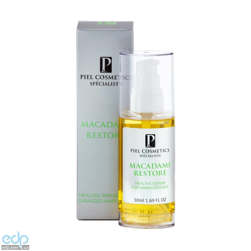 Piel Cosmetics - Восстанавливающая сыворотка для кончиков волос Hair Care Macadami Restore Serum - 50ml (Арт. 0481)