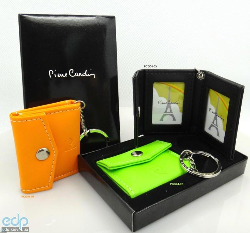 Pierre Cardin - брелок-фоторамка в виде кошелька для ручек зеленый (арт. PCG04-02)