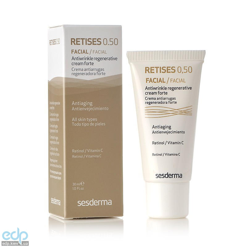 Sesderma - Крем против морщин Retises 0.5% Antiwrinkle Regenerative Cream Forte - 30 ml (40000068)