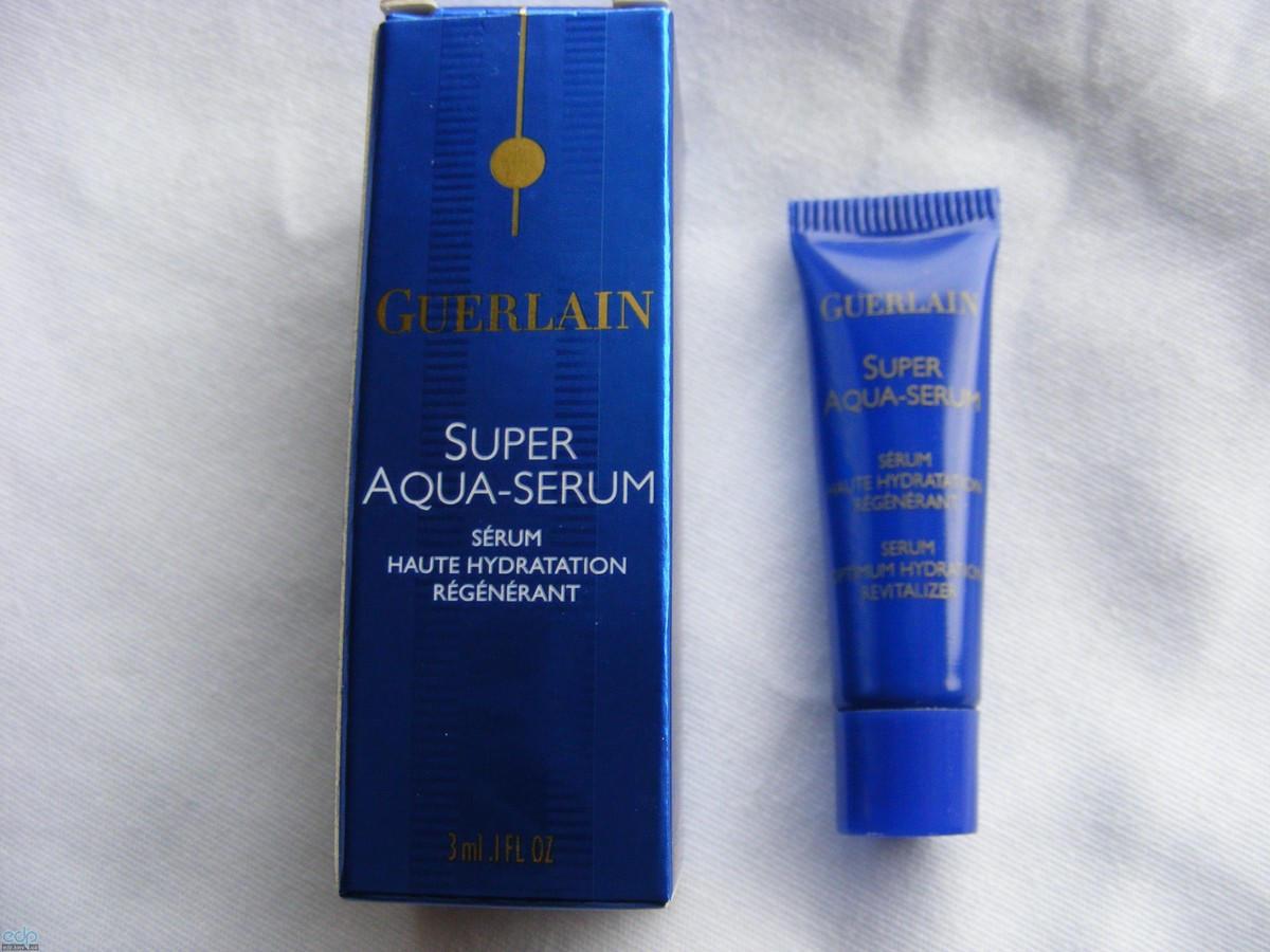 Сыворотка для лица интенсивно увлажняющая, корректирующая морщины Guerlain - Super Aqua Serum Hydrant Intense Repulpant Rides - 50ml
