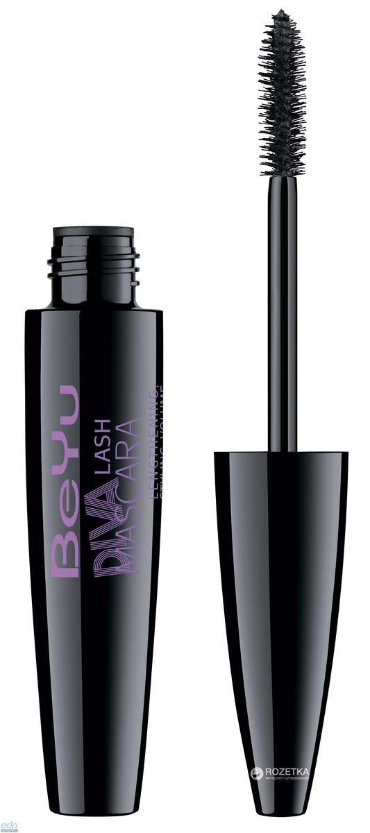 Тушь для ресниц объемная BeYu - Diva Lash Mascara №1 Black