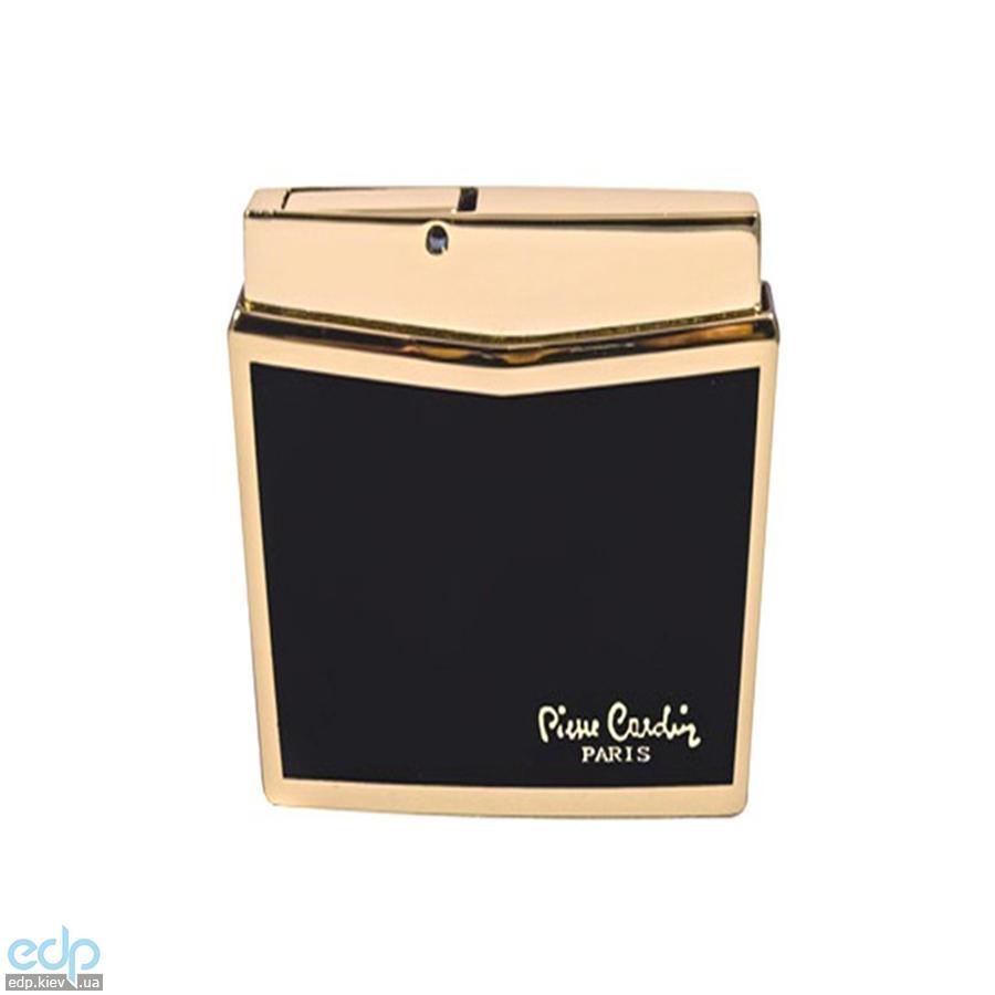 Pierre Cardin - Зажигалка газовая пьезо черный лак/золото (арт. MF-158-05)