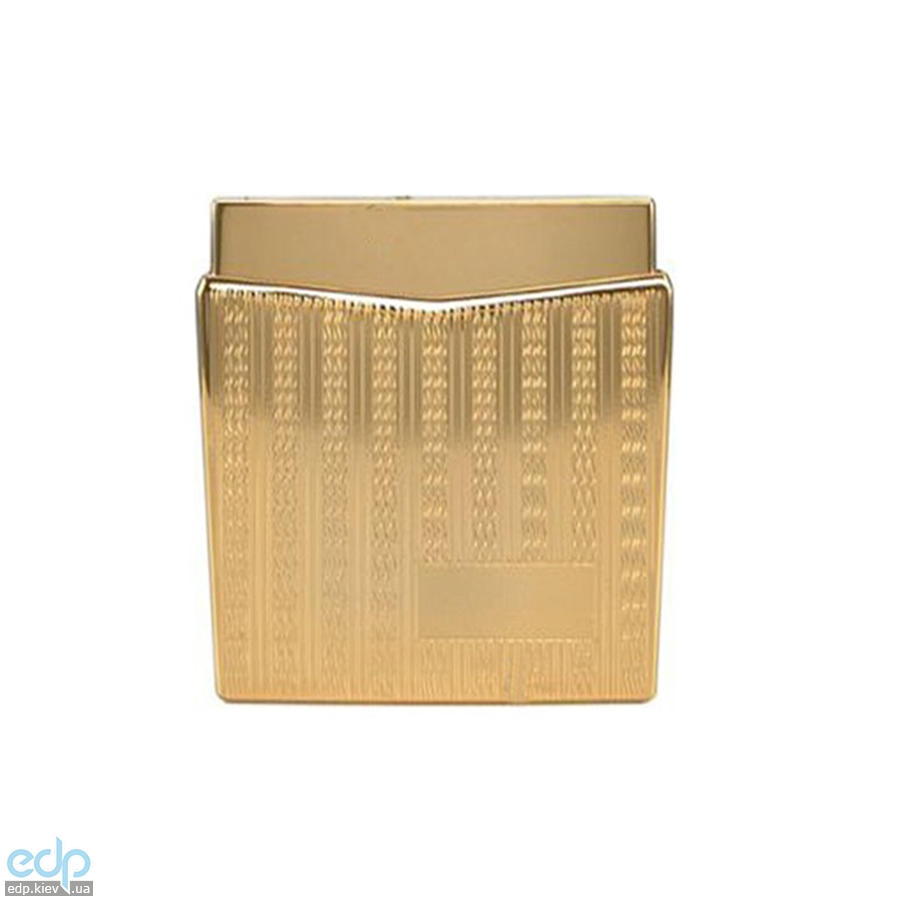 Pierre Cardin - Зажигалка газовая пьезо золото с насечкой (арт. MF-158-08)
