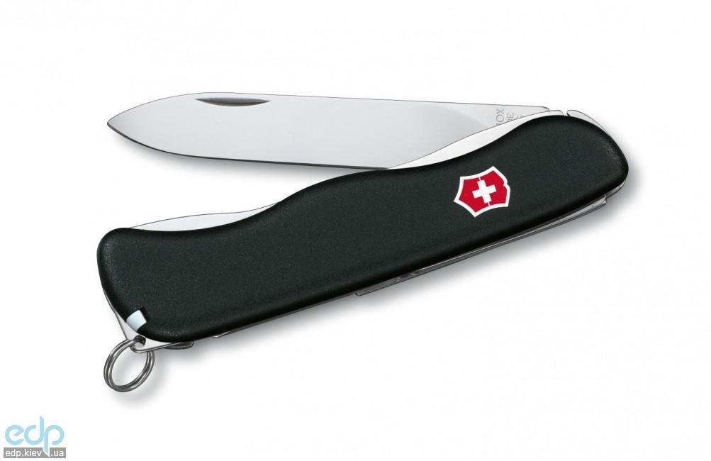 Складной нож Victorinox - One-Hand - 111 мм, 4 функции черный (0.8413.M3)