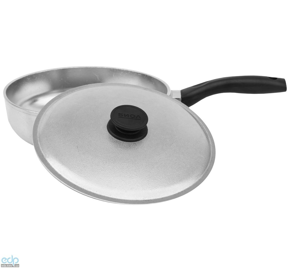 Биол - Сковородка Линия Блеск с крышкой диаметр 26 см (2609БК)