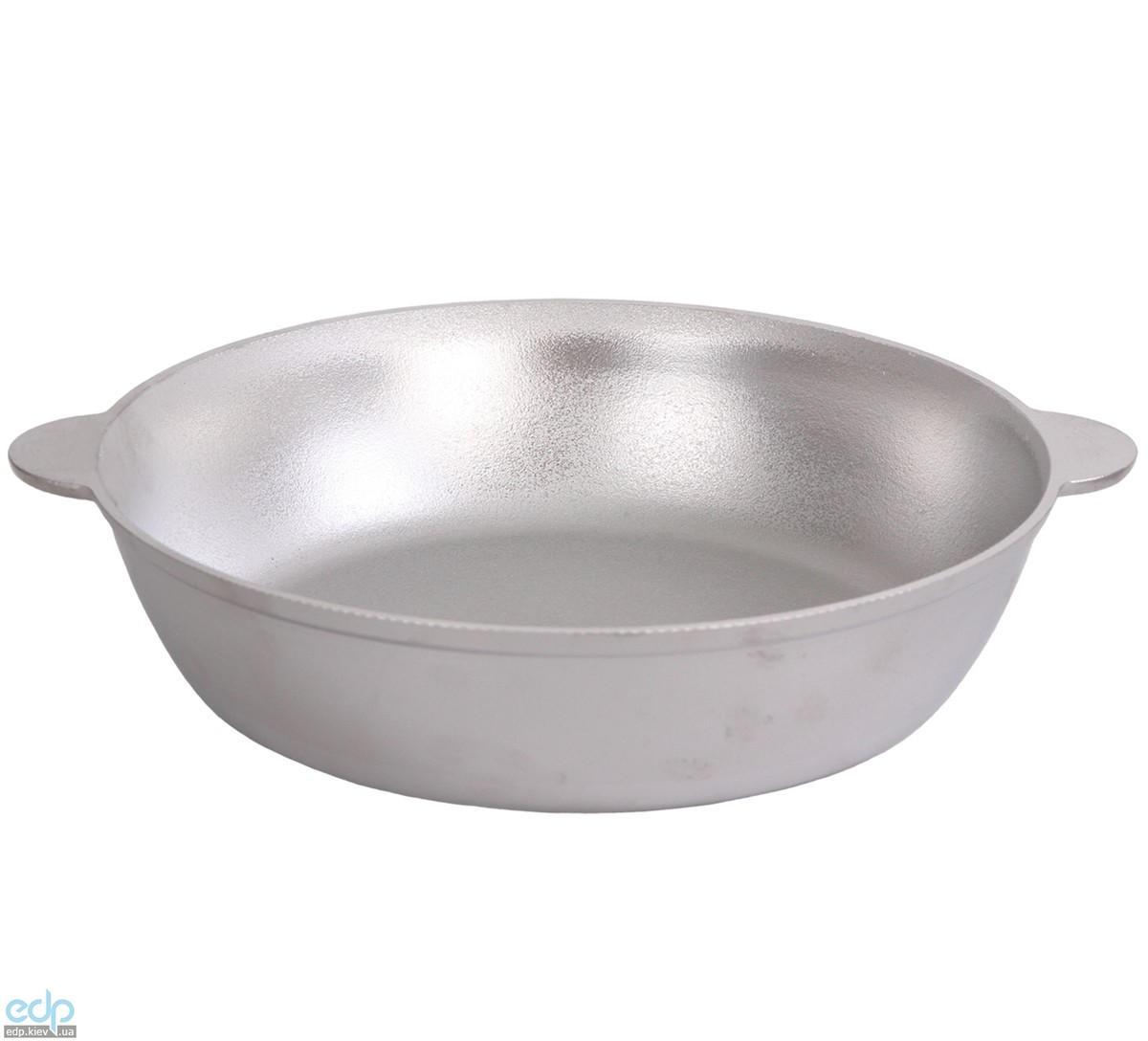 Биол - Сковорода алюминиевая без крышки и с ровным дном диаметр 30 см (С304)